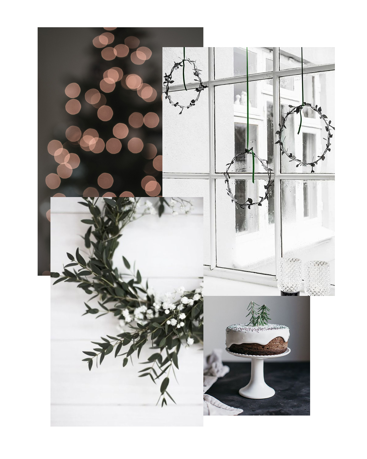 Scandinavian Mindful Holiday Decor